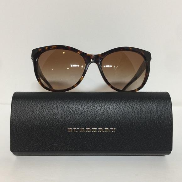 New Burberry 4199 Havana Woman Plastic Sunglasses